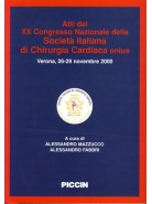 Atti XX Congresso Società Italiana di Chirurgia Cardiaca