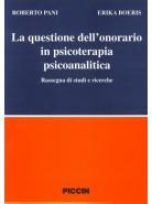 La Questione dell'Onorario in Psicoterapia Psicoanalitica
