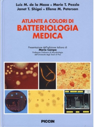Atlante a colori di batteriologia medica