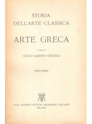 Storia dell'Arte Classica: Arte Greca (2 voll.)