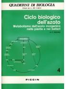 Ciclo Biologico dell'Azoto - Metabolismo dell'Azoto Inorganico nelle Piante e nei Batteri