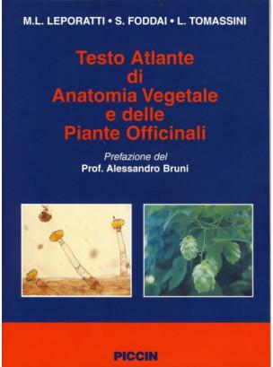 Testo Atlante di Anatomia Vegetale e delle Piante Officinali