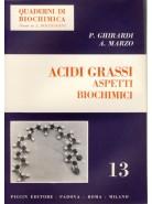 Acidi Grassi - Aspetti Biochimici
