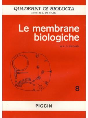 Le Membrane Biologiche - Vol. 8