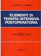 Elementi di Terapia Intensiva Postoperatoria