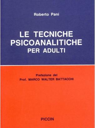 Le Tecniche Psicoanalitiche per Adulti