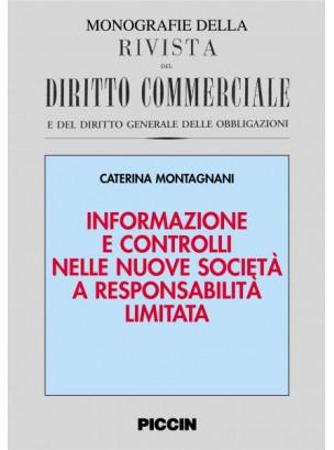 Informazione e controlli nelle nuove società a responsabilità limitata