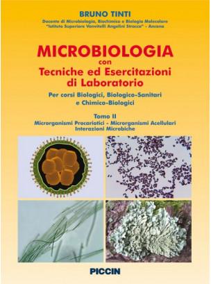 Microbiologia con tecniche ed esercitazioni di laboratorio Vol II