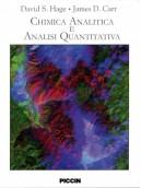 Chimica analitica ed analisi quantitativa