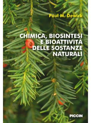 Chimica, biosintesi e bioattività delle sostanze naturali