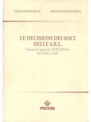 Le Decisioni dei Soci nelle S.R.L.