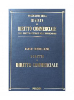 Scritti di diritto commerciale