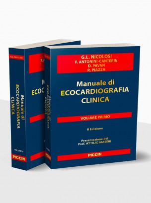 Manuale di ecocardiografia clinica II edizione + DVD