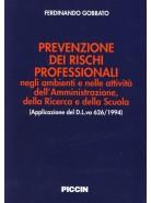 Prevenzione dei rischi professionali