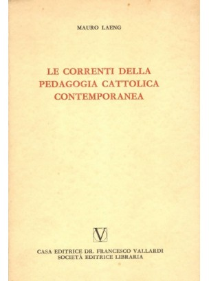 Le Correnti Cattoliche Contemporanee