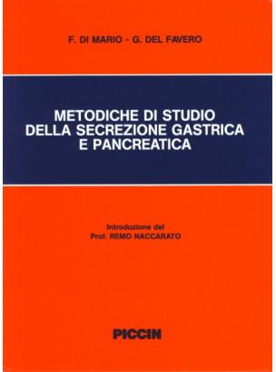 Metodiche di studio della secrezione gastrica e pancreatica