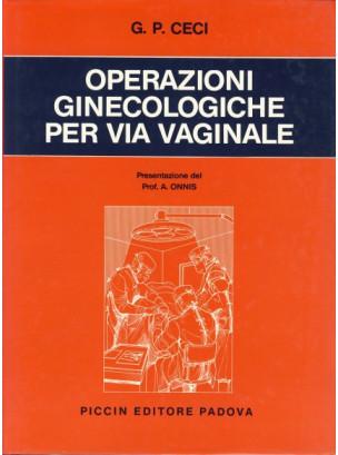 Operazioni ginecologiche per via vaginale