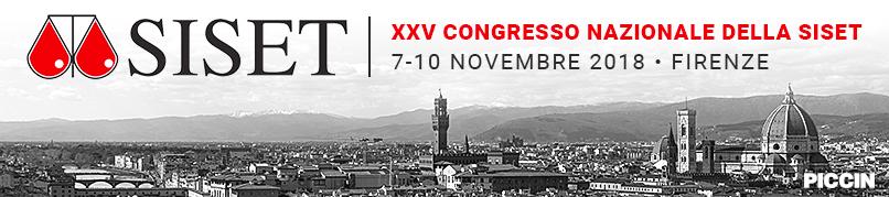 Congresso Nazionale SISET - 7-10 Novembre 2018 - Firenze