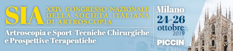 XXIV Congresso Nazionale SIA-24-26 Ottobre 2019-Milano