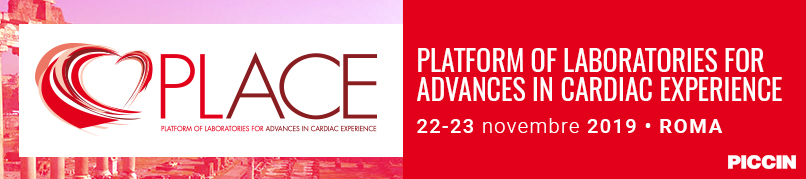 PLATFORM OF LABORATORIES FOR ADVANCES IN CARDIAC EXPERIENCE - 22-23 Novembre 2019 presso il Centro Congressi di Confindustria Auditorium della Tecnica