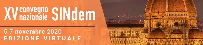 XV Convegno Nazionale VIRTUALE SINdem - 5-7 Novembre 2020