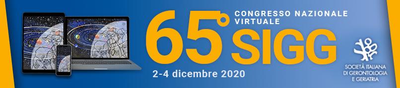 65° CONGRESSO NAZIONALE SIGG VIRTUALE 2– 4 DICEMBRE 2020
