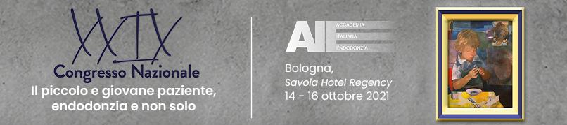 XXIX CONGRESSO NAZIONALE AIE - 14-16 OTTOBRE 2021 - BOLOGNA