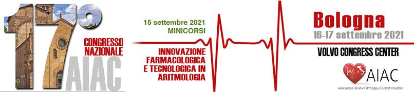 17°NAZIONALE AIAC - 16-17 settembre 2021 - BOLOGNA